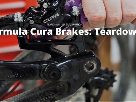 Formula Cura Brakes: Teardown