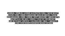 image beauty avenue illustrated china tirade magazine luxure make up forever el mundo h mag lecturas doze wink kenzo sicky moises nieto multiopticas oci mag adidas hellion calle20 gori de palma  calvin klein hola longdays longboard b-side lhispanitas