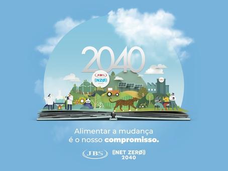 Compromisso de zerar balanço de emissões de gases do efeito estufa