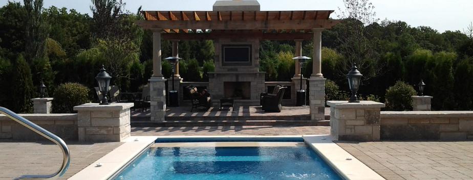 Swimming Pool & Pergola