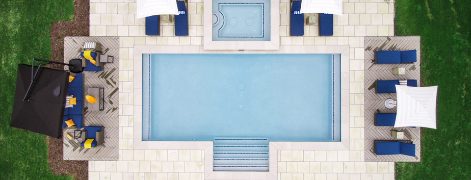 Swimming Pool, Spa and Hardscape