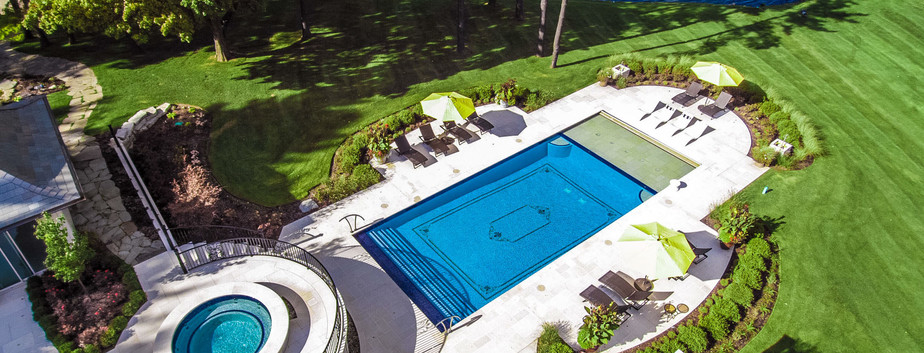 Swimming Pool, Spa & Landscape