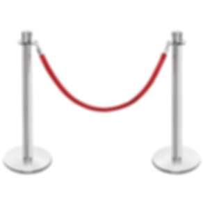 stanchion and rope