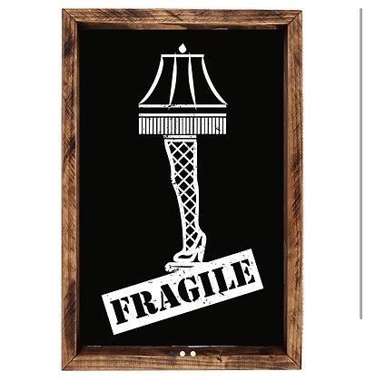 Fragile Lamp Art