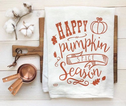 Pumpkin Spice Season Towel