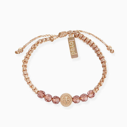 A Mother's Love Blessing for My Daughter Bracelet