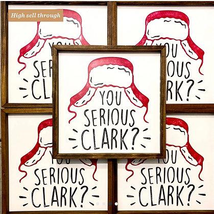 Serious Clark? Art