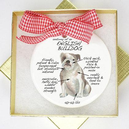 English Bulldog Ornament