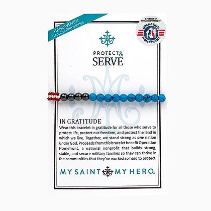 Protect & Serve in Gratitude