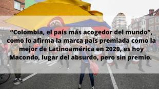 """""""Colombia, el país más acogedor del mundo"""""""