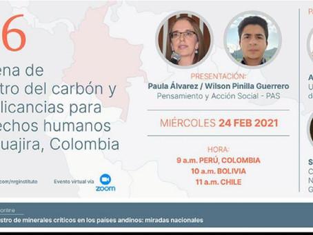 La cadena de suministro del carbón y sus implicancias para los DDHH en La Guajira, Colombia