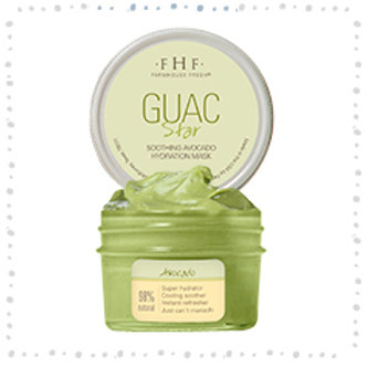Guac Star - Soothing Avocado Hydration Mask 3.25 oz. glass jar 14-18 application