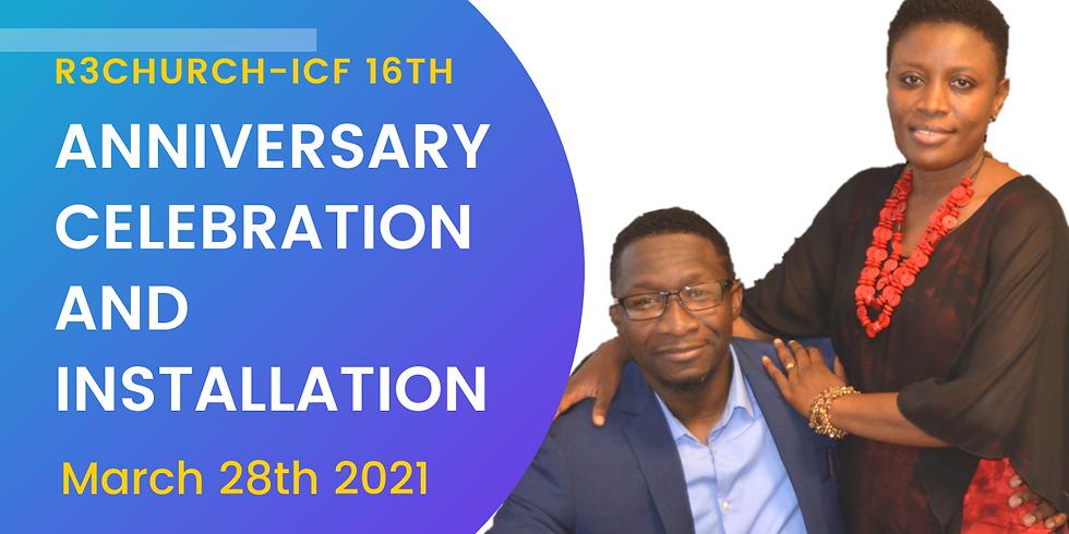 Anniversary And Installation Service
