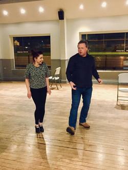 adele and stephen dancing