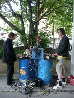 sound barrels