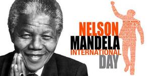 O ícone Nelson Mandela  -  por Cecília Peixoto
