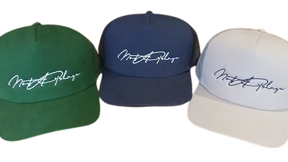 Not A Phase CURSIVE TRUCKER