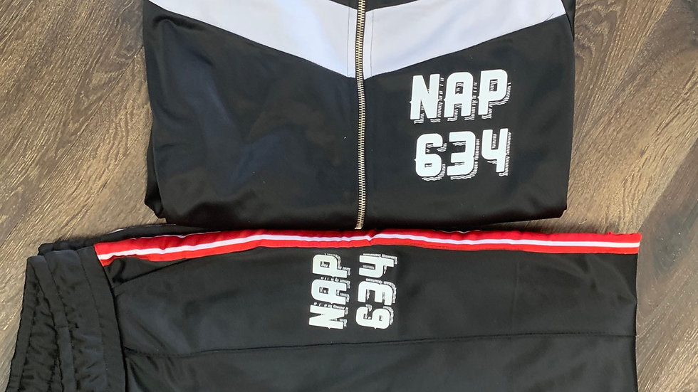 NAP634 Tracksuit w/ Red Tape