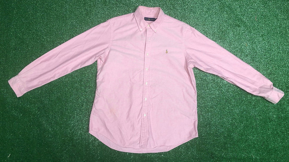 LONG SLEEVE CLASSIC FIT POLO-L