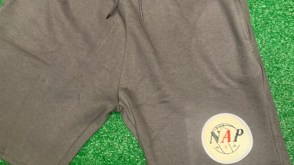 NAP634 TERRY CLOTH SHORT GREY