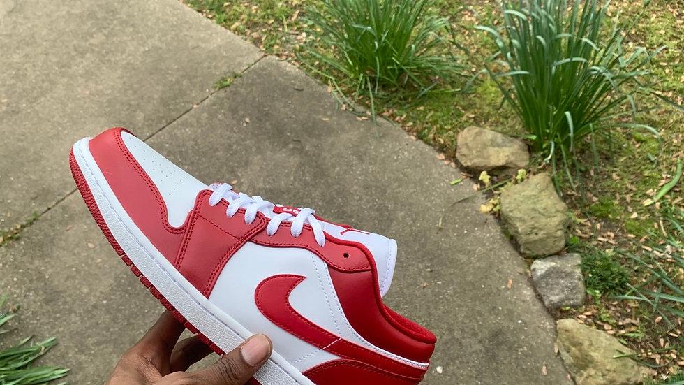 AJ1 Low Gym Red Sz 11