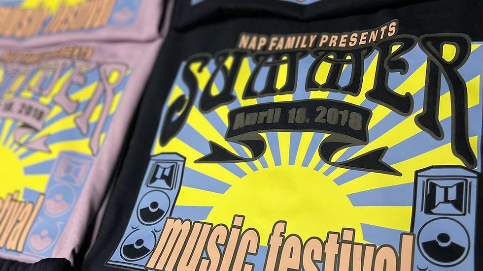 NAP MUSIC FESTIVAL UNISEX SHORTSET