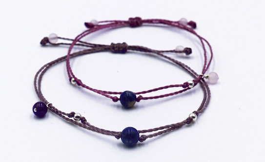 The Sodalite Bracelet with 925 Sterling Silver