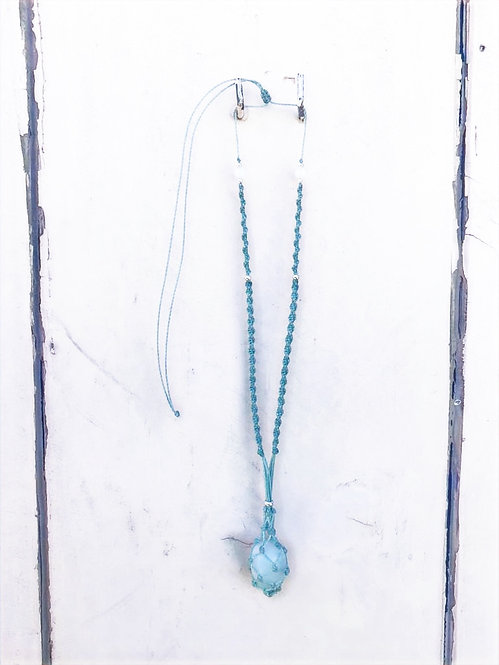 The Minty Blue Necklace
