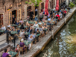 Jerome Kaye - Cafe in Utrecht