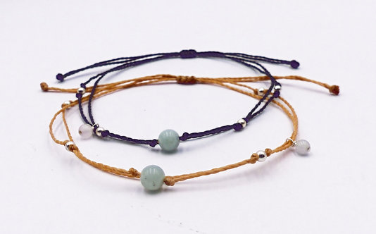 The Amazonite Bracelet with 925 Sterling Silver