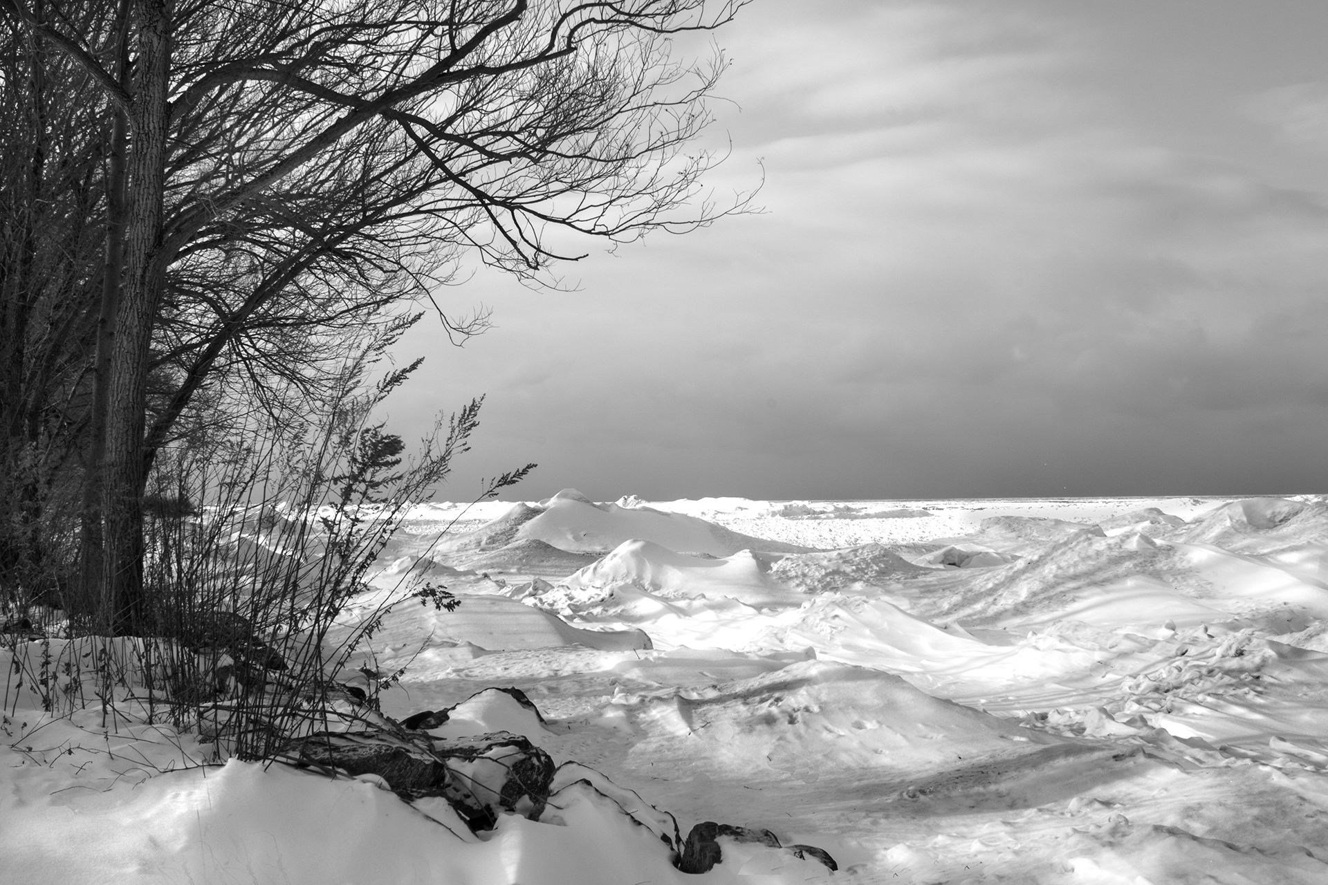 Pero.Winter on Ontario 2