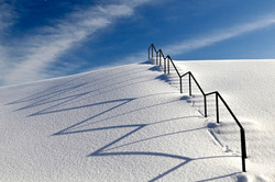 Ron Weetman - Snow Stairs