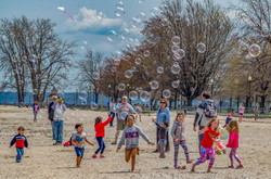 Courtney.Chasing Bubbles