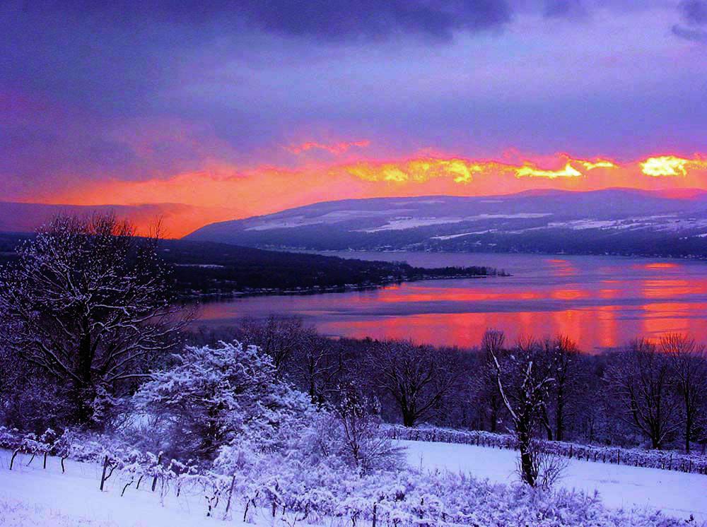 079 Marilena Point Winter (Keuka lake)