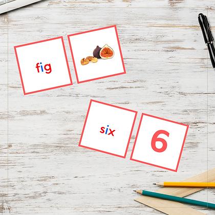 CVC Cards - Letter I - Montessori - Homeschooling