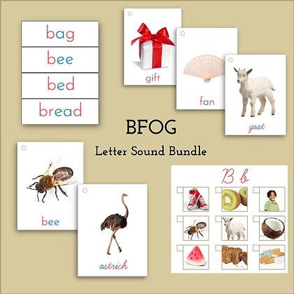 Language Bundle - Letters BFOG