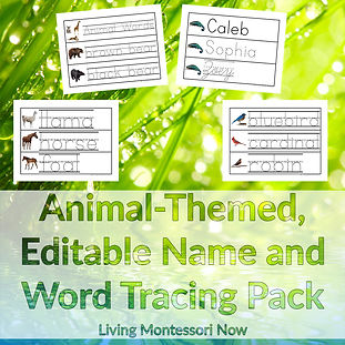 deb chitwood - animal-themed, editable n