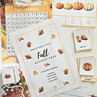kimberly huff - fall preschool montessor