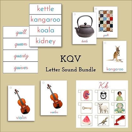 Language Bundle - Letters KQV