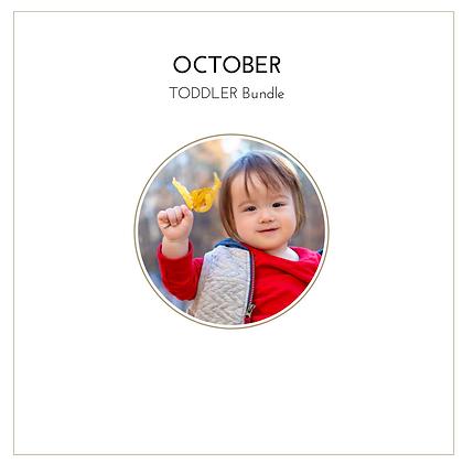 October Toddler Bundle