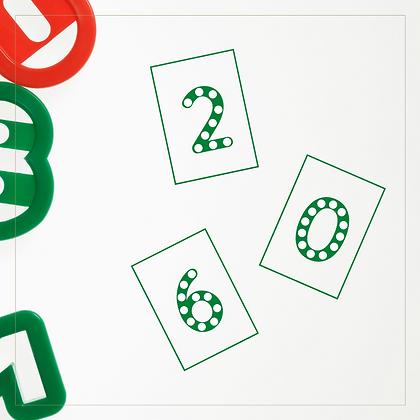 Do a Dot (Numbers) - Montessori - Homeschooling - Art Activity