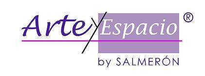LOGO ARTE Y ESPACIO BY SALMERON REGISTRO