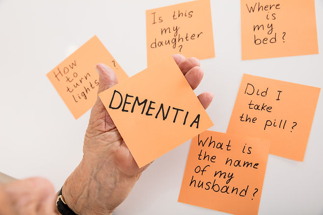 Symptoms of Dementia