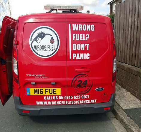 Wrong Fuel Assistance Wigan