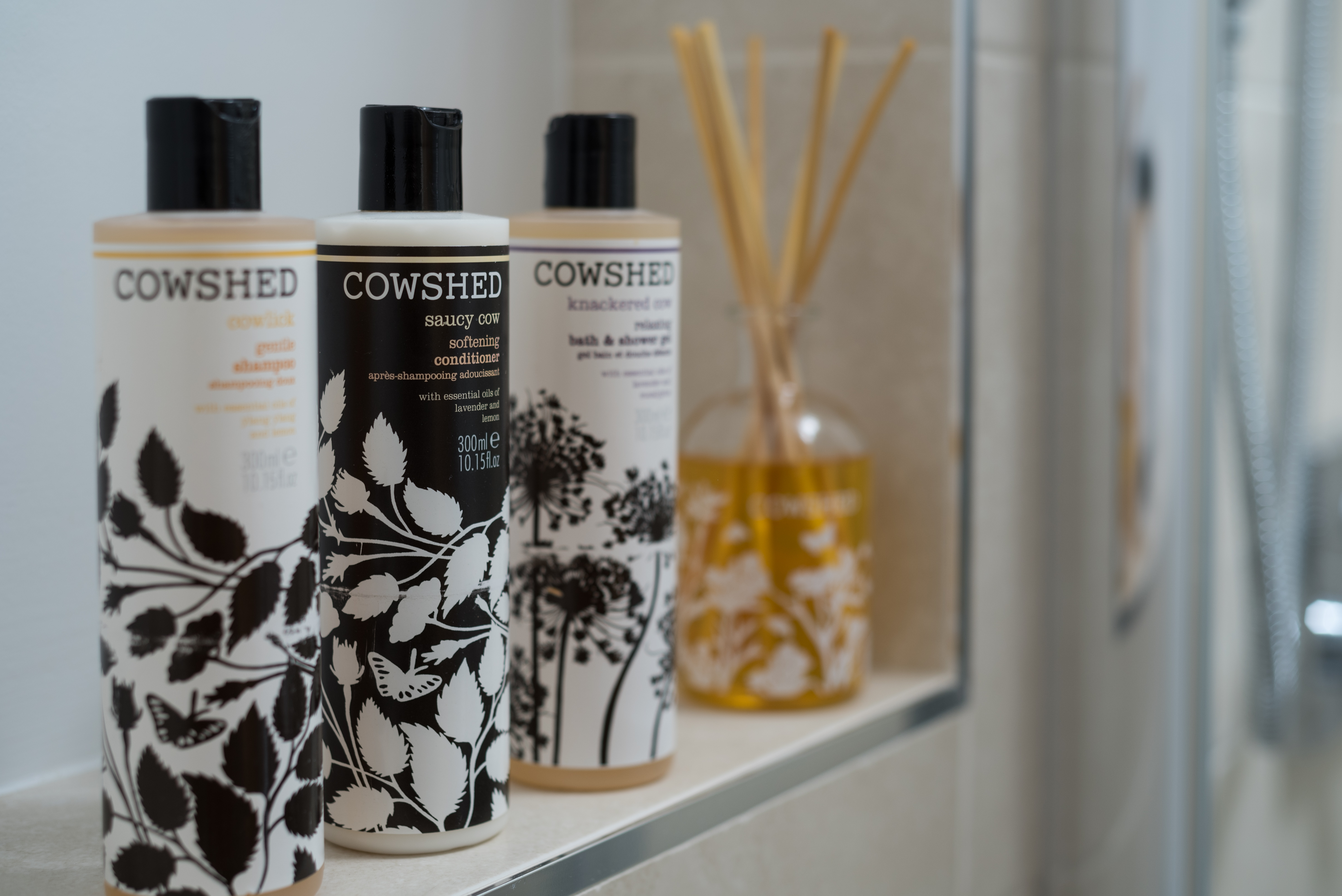 Complimentary Cowshed Products