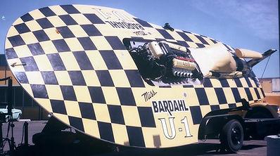 1968 U-1 Miss Bardhal MH 6740 rcboatcomp