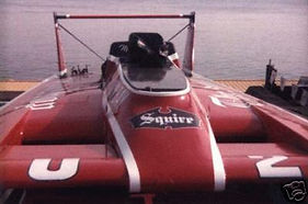 1984 U-2 The Squire MH 8200 RC Boat Comp