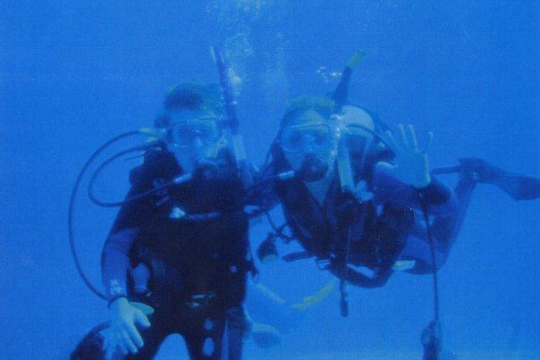 Scuba Diving Mom