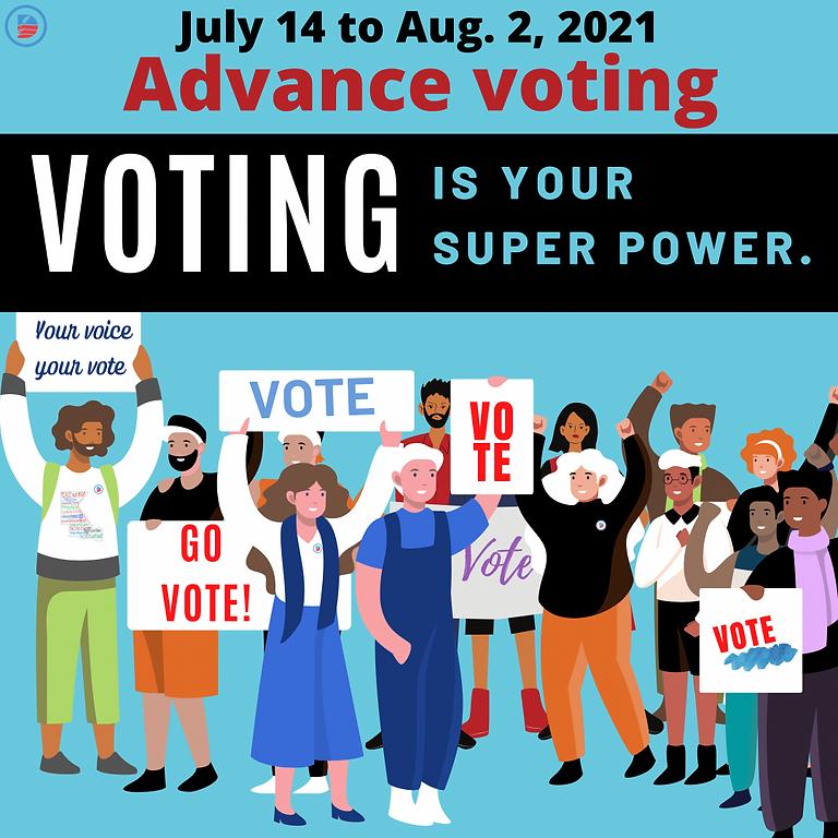 Mail Ballots & Advance Voting-Begins