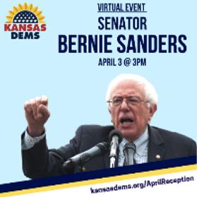 Virtual Event with Senator Bernie Sanders